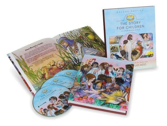 Story For Children: A Storybook Bible w/CD (Deluxe Edition)-Christian Music-SonGear Marketplace-SonGear
