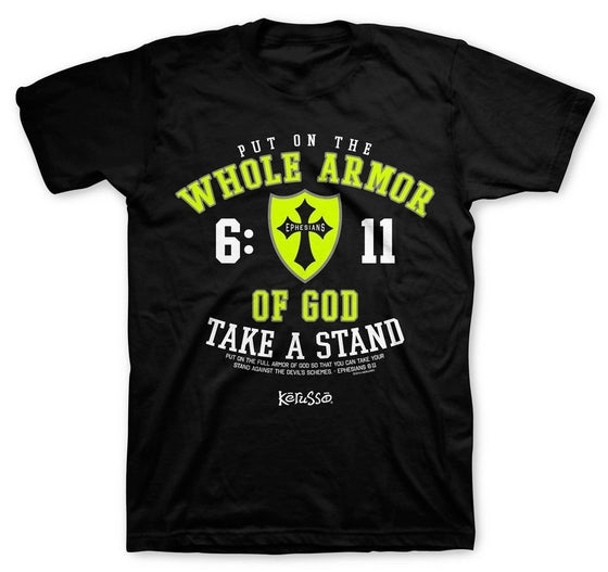 Take A Stand Christian Tee-Christian Apparel & Accessories-Kerusso-APT1428SM-SonGear