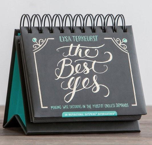 The Best Yes Daybrightener Perpetual Calendar-Christian Calendars, Organizers & Planners-SonGear Marketplace-SonGear