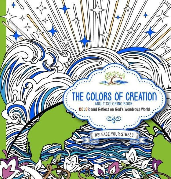 The Colors of Creation Adult Coloring Book: Color and Reflect on God's Wondrous World-Christian Books-SonGear Marketplace-SonGear
