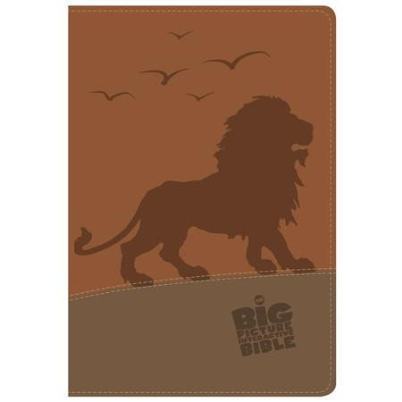 The CSB Big Picture Interactive Bible, Lion LeatherTouch-Christian Bibles-SonGear Marketplace-SonGear