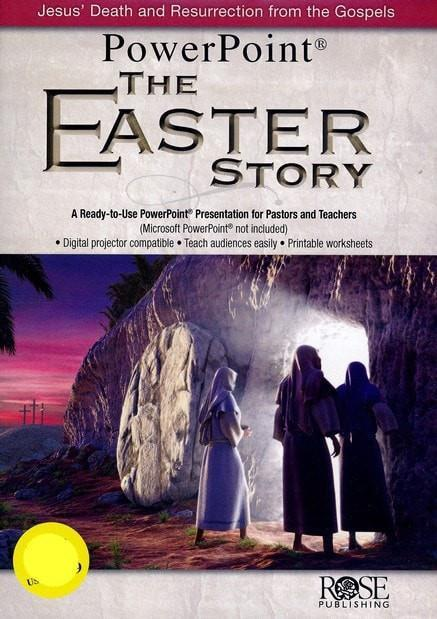 The Easter Story Powerpoint CD-Christian Books-SonGear Marketplace-SonGear