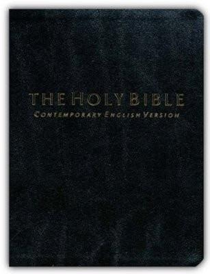 The Holy Bible: CEV Black Bonded Leather, Compact Edition-Christian Bibles-SonGear Marketplace-SonGear