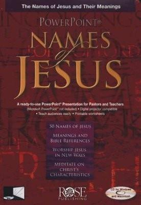 The Names of Jesus: PowerPoint CD-ROM-Christian Books-SonGear Marketplace-SonGear