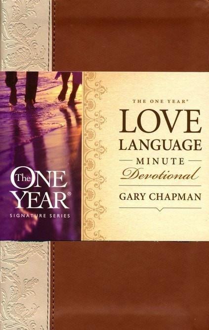 The One Year Love Language Devotional, Imitation Leather-Christian Books-SonGear Marketplace-SonGear