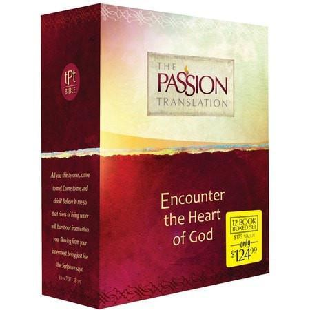 The Passion Translation: 12 Volume Boxed Set-Christian Bibles-SonGear Marketplace-SonGear