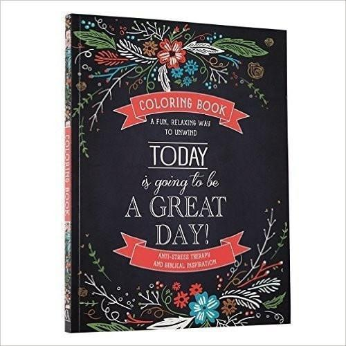 'Today' Adult Coloring Book-Christian Drawing & Painting-SonGear Marketplace-SonGear