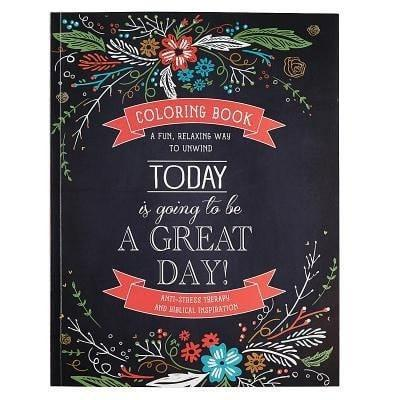 Today Is Going To Be A Great Day! Adult Coloring Book-Christian Books-SonGear Marketplace-SonGear
