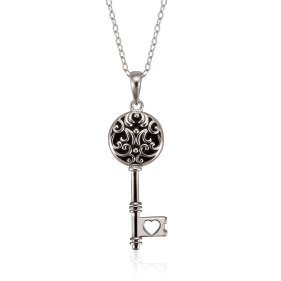 Treasured Sterling Silver Necklace-Christian Necklaces-Halle Joy-SonGear