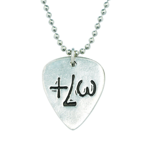 True Love Waits Necklace - TLW Guitar Pick-Christian Necklaces-Bob Siemon-SonGear