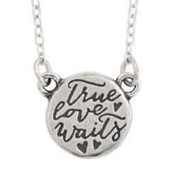 True Love Waits Necklace - TLW Tiny Hearts-Christian Necklaces-Bob Siemon-SonGear