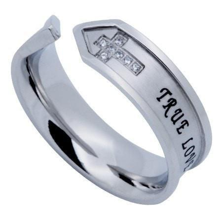 'True Love Waits' - Nexus Women's Ring-Christian Rings-Spirit and Truth-SGN3145767506-SonGear