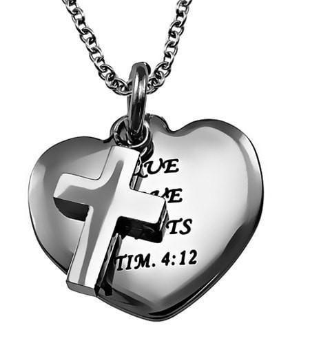 'True Love Waits' Sweetheart Necklace-Christian Necklaces-Spirit and Truth-SonGear