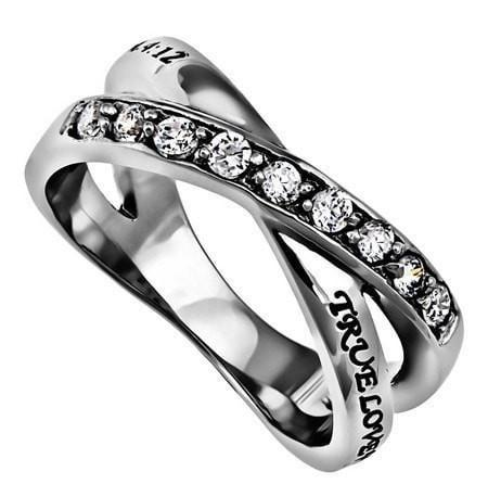 'True Love Waits' - Women's Radiance Ring-Christian Rings-Spirit and Truth-SGN1055112505-SonGear