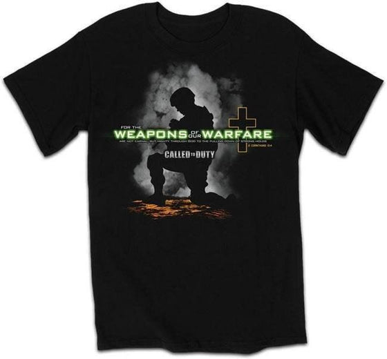 Weapons Of Our Warfare Christian T-Shirts-Christian T-Shirts-Kerusso-APT1119SM-SonGear