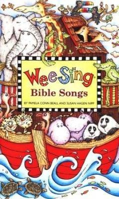 Wee Sing Bible Songs w/CD-Christian Music-SonGear Marketplace-SonGear