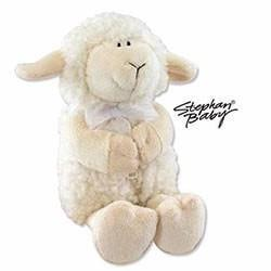 White Musical Lamb - Jesus Loves Me-Christian Stuffed Toys-SonGear Marketplace-SonGear