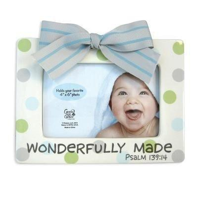 'Wonderfully Made' Frame-Christian Picture Frames-SonGear Marketplace-SonGear