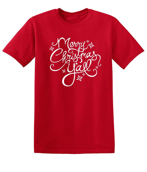 Merry Christmas Y'all - Short-Sleeve T-Shirt