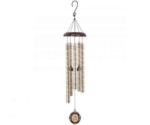 'You Are Missed' Vintage Sonnet Wind Chime-Christian Wind Chimes-SonGear Marketplace-SonGear