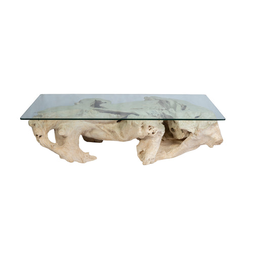 Bleached Coffee Table