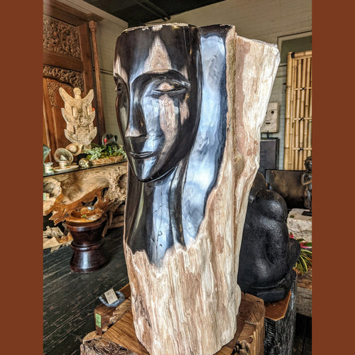 Petrified Wood Bust