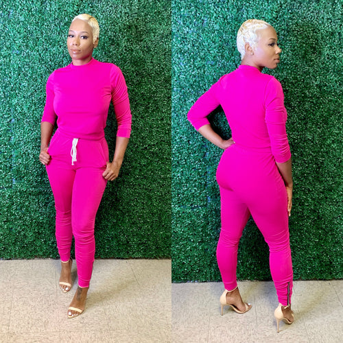 Kissy sets | long sleeve pink set