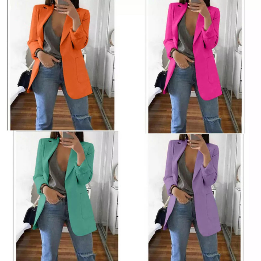 Fancy Blazers | Bright color blazer