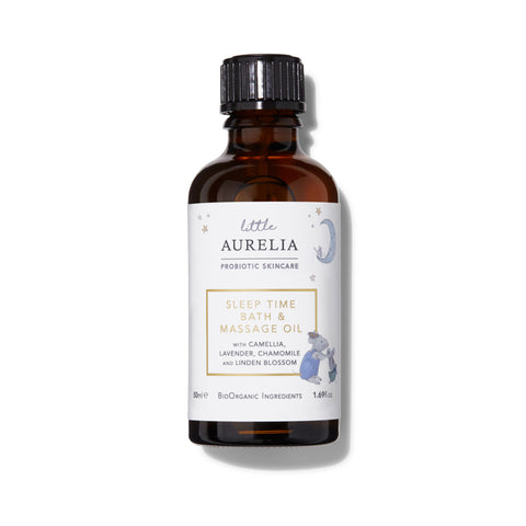 Sleep Time Bath & Massage Oil Little Aurelia