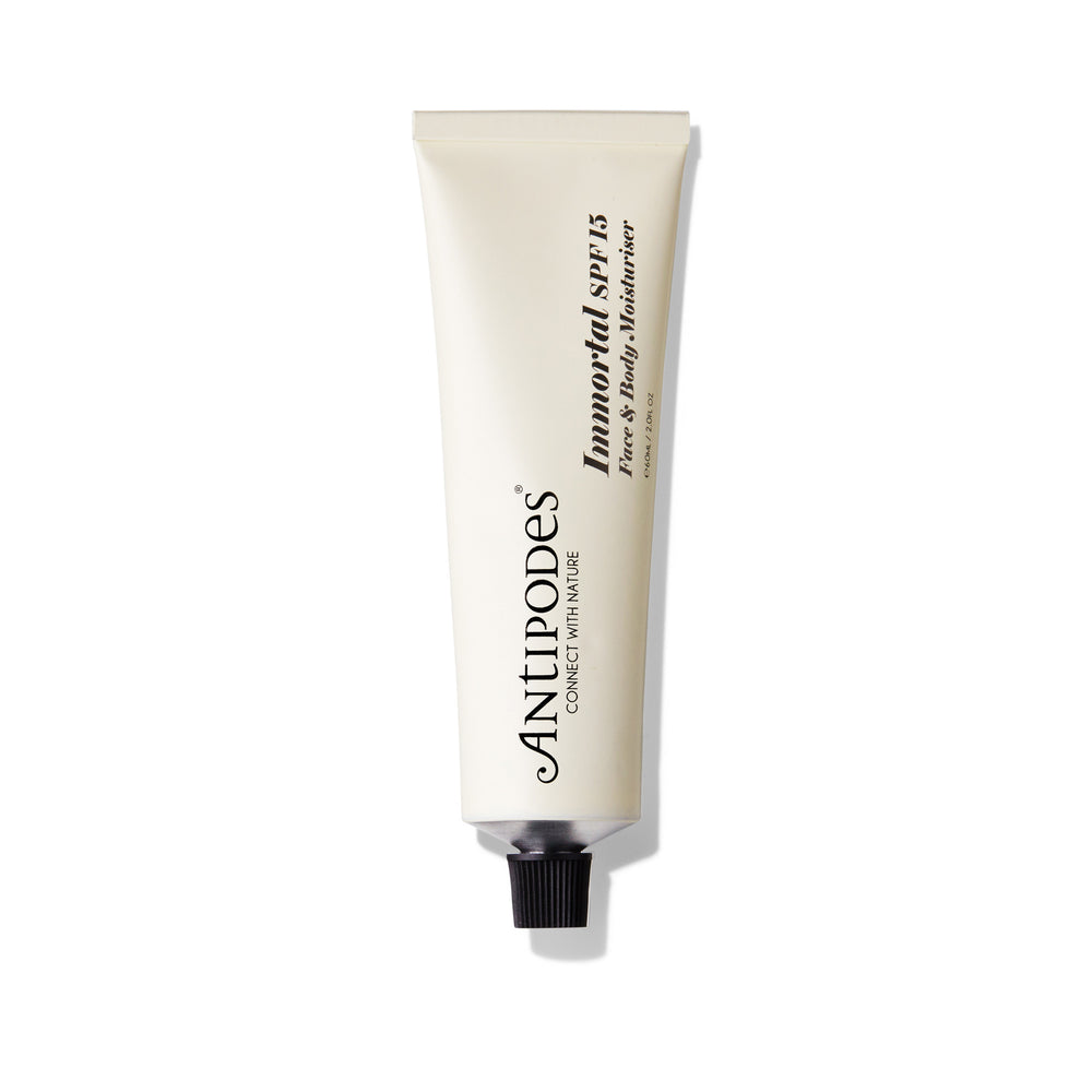 Immortal Moisturiser SPF15 Protection Naturelle
