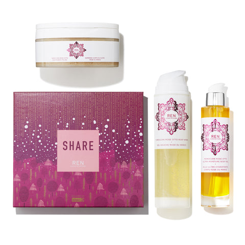 Coffret SHARE Rose Luxueuse