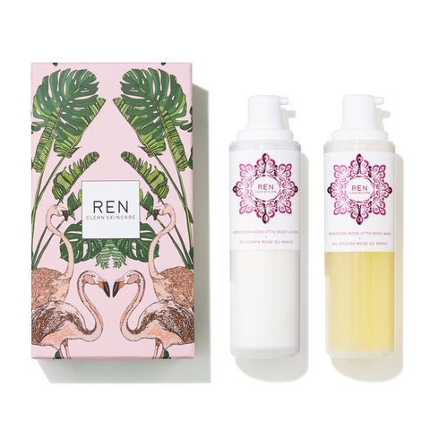 Coffret Corps Rose Duo
