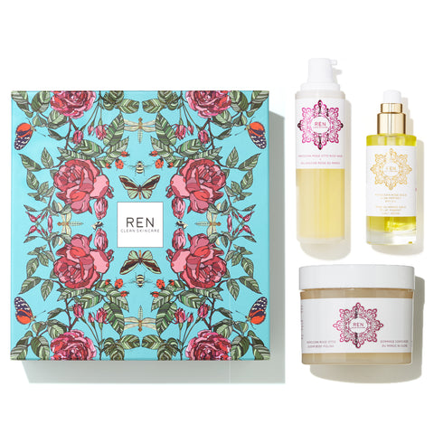 Coffret Rose Luxueuse