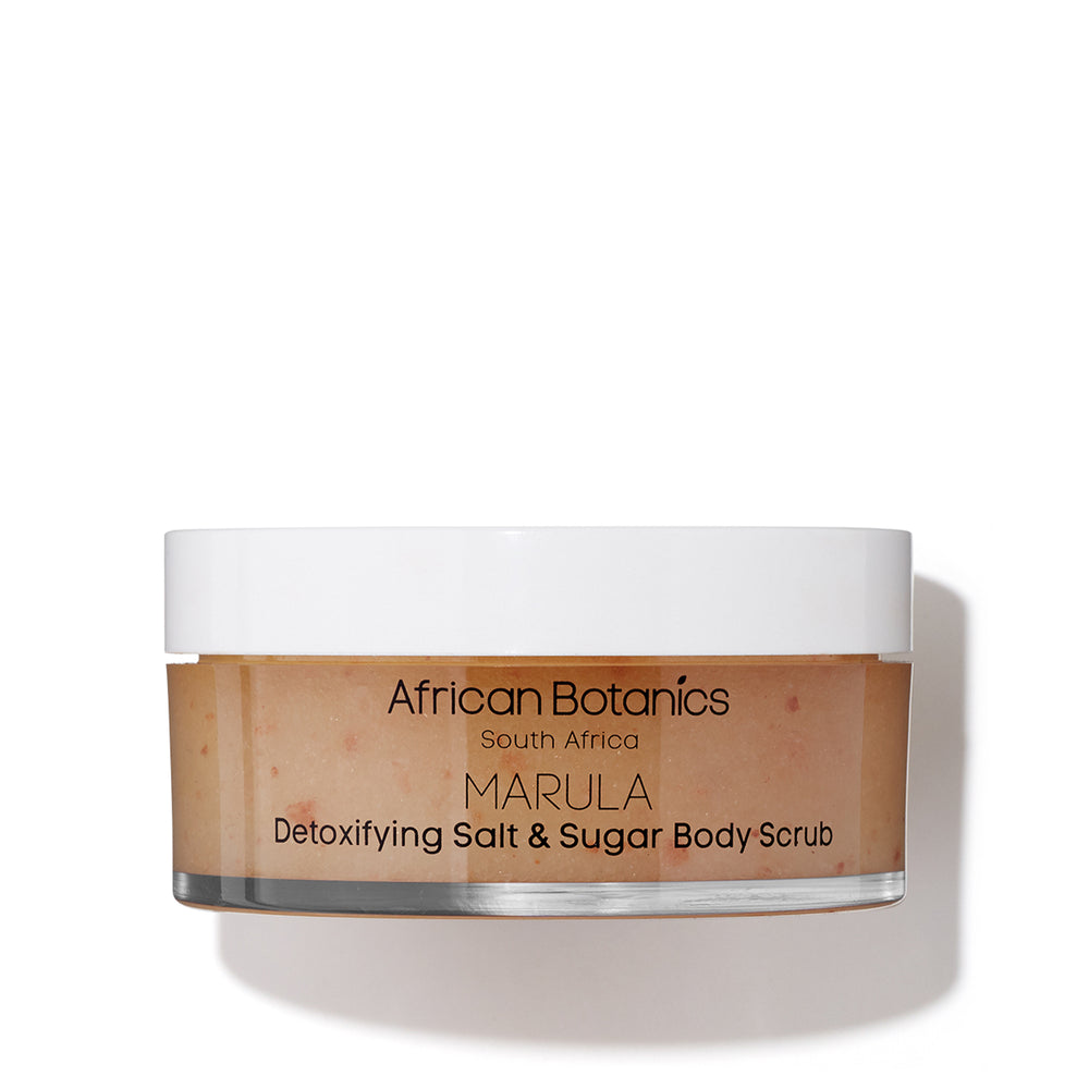 Detoxifying Salt & Sugar Body Scrub Exfoliant Corps