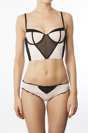 Bustier - Second night - Maud et Marjorie Lingerie