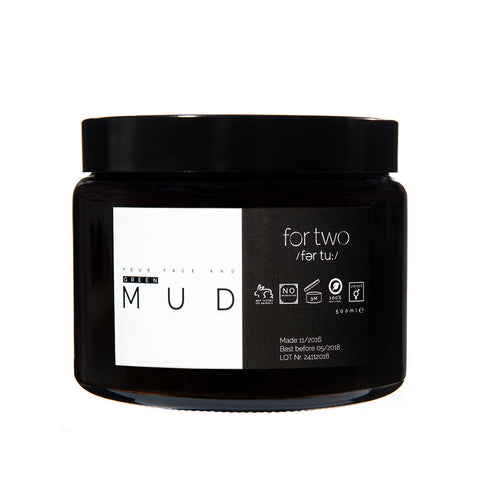 GREEN MUD FACE MASK - FOR TWO