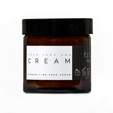 GINGER LIME FACE CREAM - FOR TWO