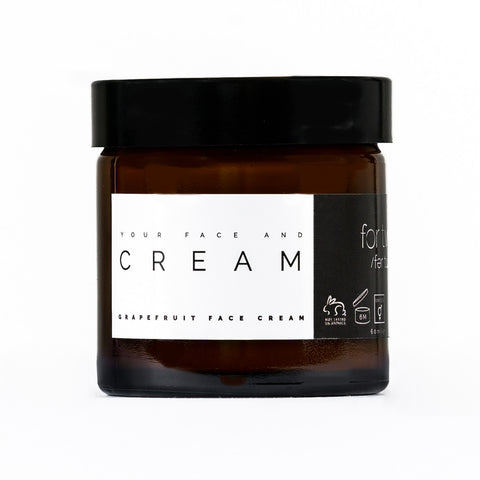 GRAPEFRUIT FACE CREAM - FOR TWO