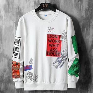 men-s hip-hop long sleeves streets sweatshirt