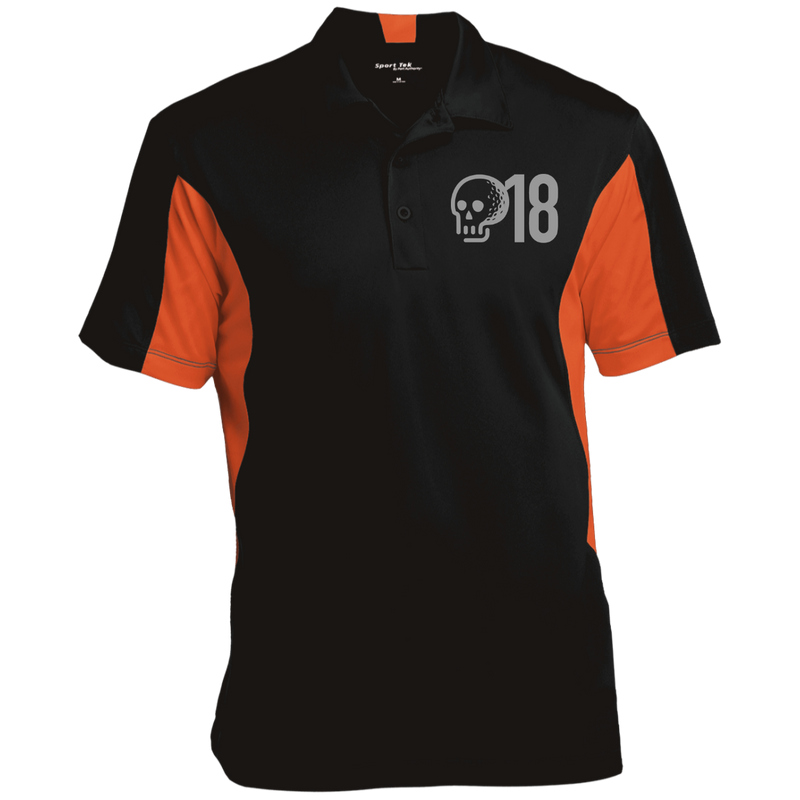 GTD Men's Colorblock Performance Polo