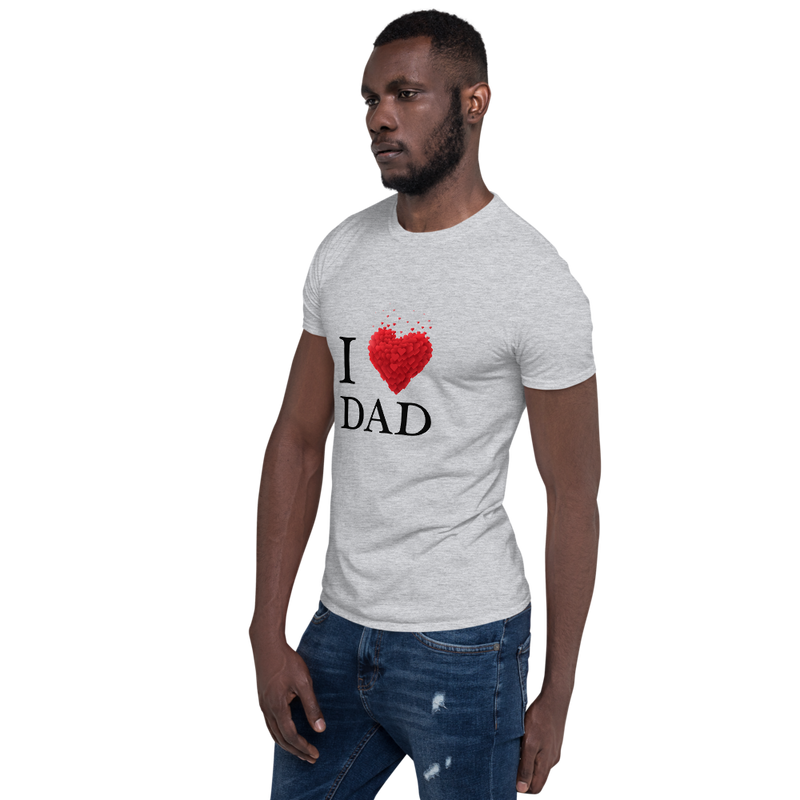 Jerry's Apparel I Love Dad T-Shirt