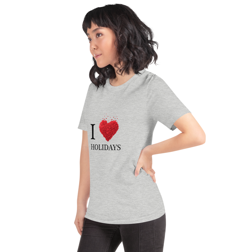 I Love Holidays T-Shirt