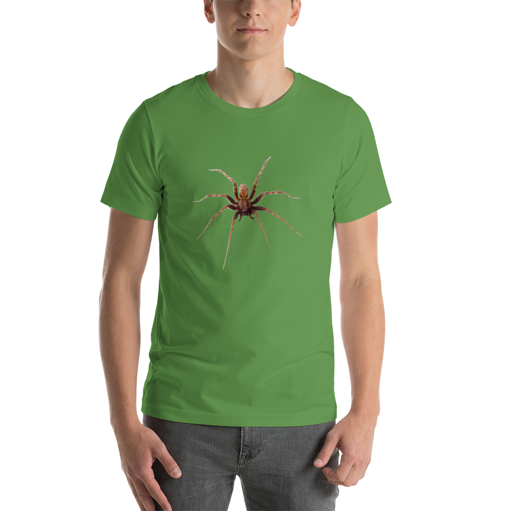 Jerry's Apparel Leaf / S Spider Short-Sleeve Unisex T-Shirt