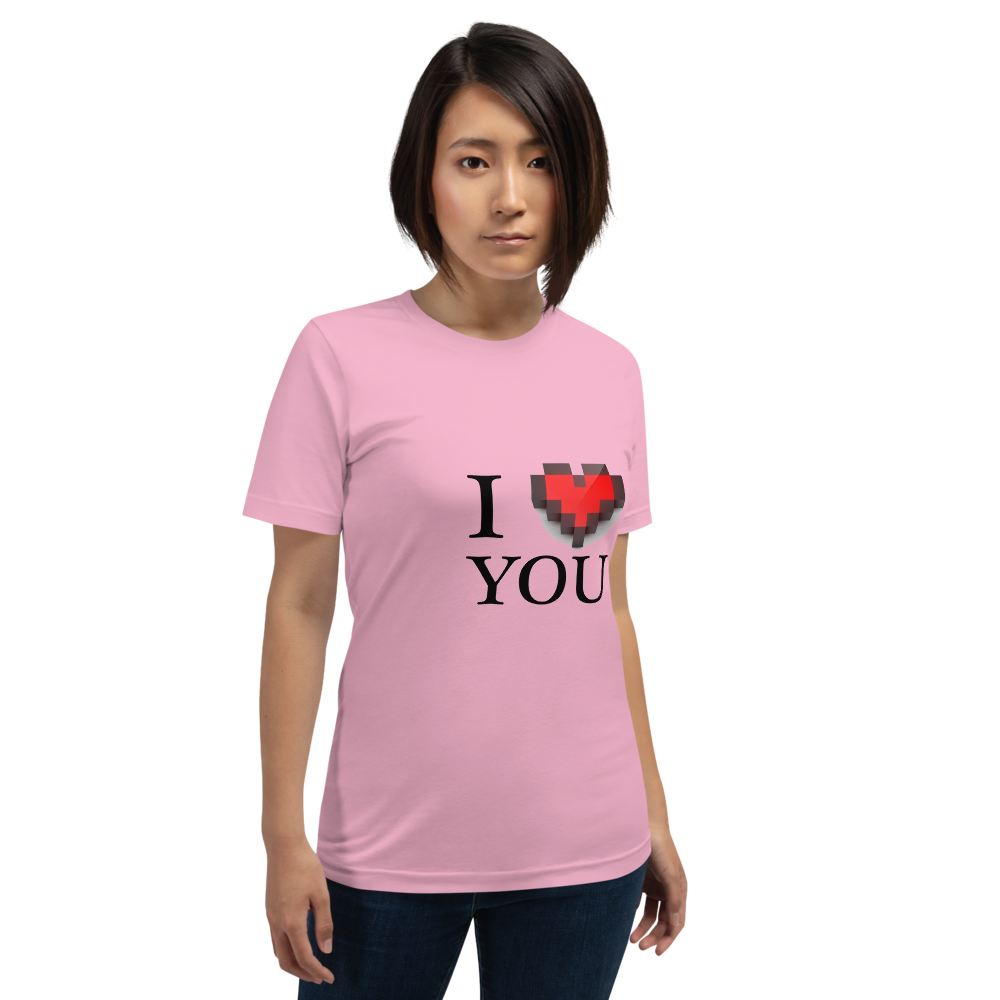 Jerry's Apparel Lilac / S I Love You T-Shirt