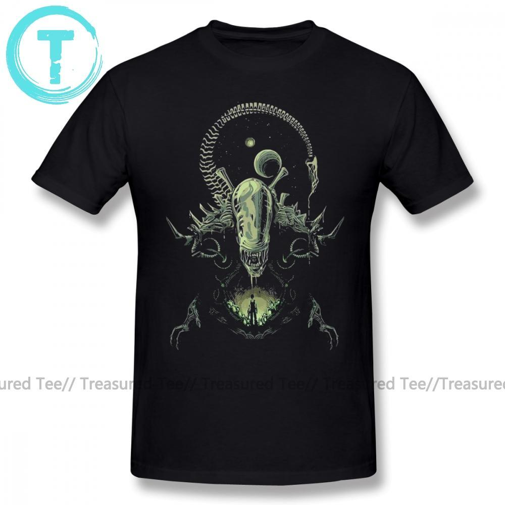 Jerry's Apparel Men Movie Tees Alien T-Shirt Cartoon Printed