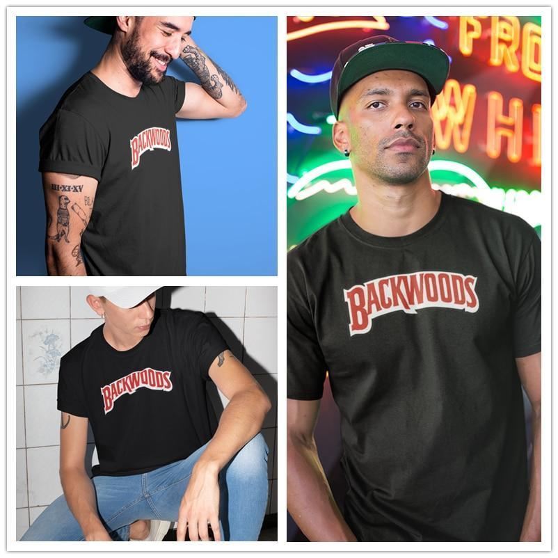 Jerry's Apparel Men Movie Tees Backwoods Logo T-Shirt