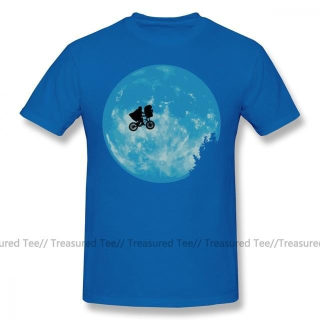 Jerry's Apparel Men Movie Tees Blue / S E.T. The Extra Terrestrial T-Shirt