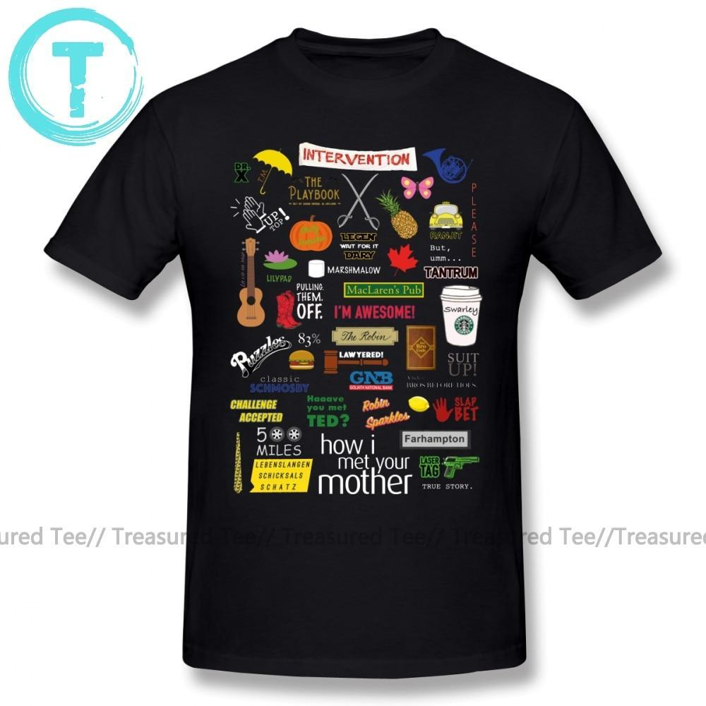 Jerry's Apparel Men Movie Tees How I Met Your Mother T-Shirt