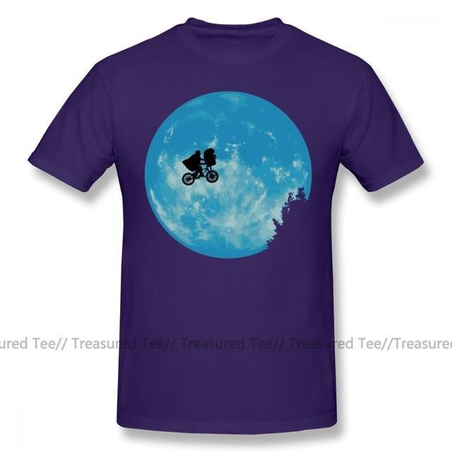 Jerry's Apparel Men Movie Tees Purple / S E.T. The Extra Terrestrial T-Shirt