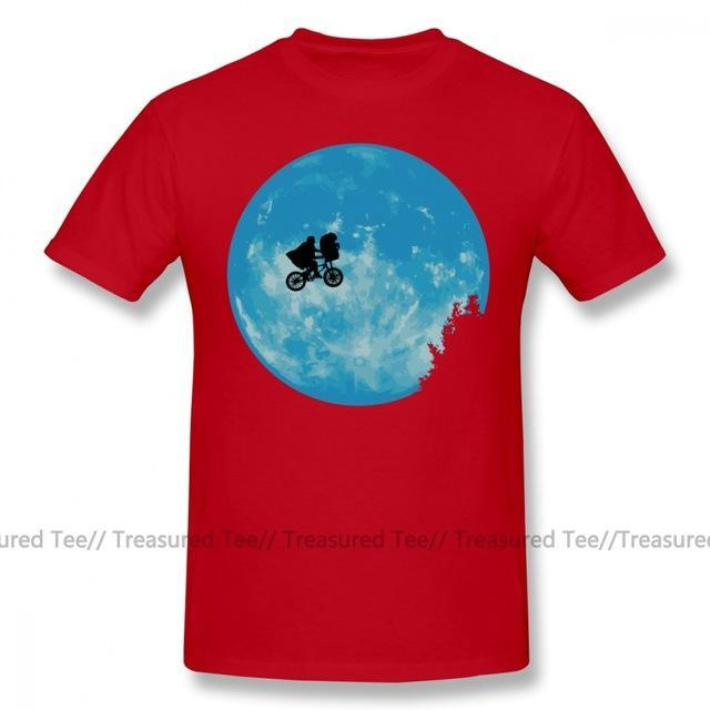 Jerry's Apparel Men Movie Tees Red / S E.T. The Extra Terrestrial T-Shirt